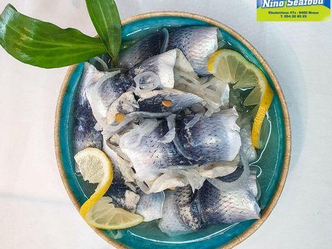 Gerookte en gemarineerde vis