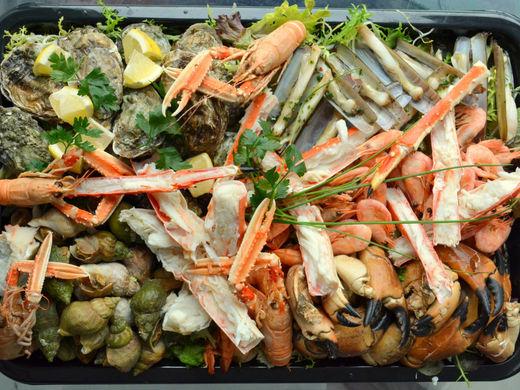 Nino Seafoodschotel krab (€ 58/ per persoon)