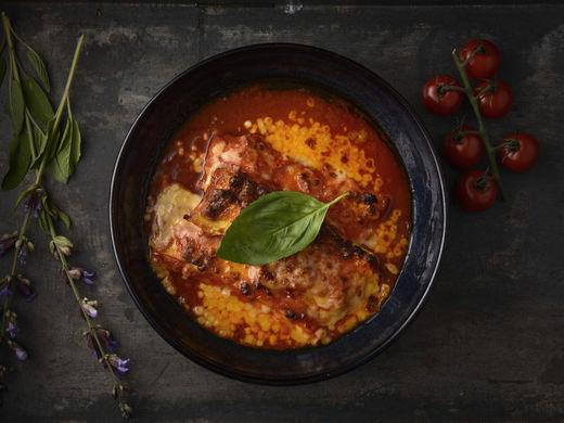 Cannelloni Ricotta e Spinaci al Pomodoro