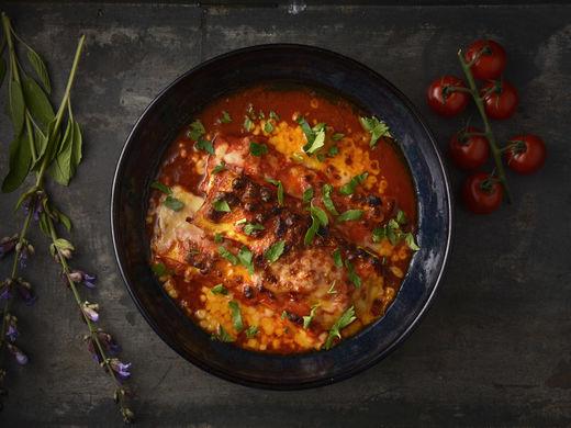 Cannelloni alla Carne al Pomodoro