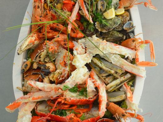 Nino Seafoodboot (€70/ per persoon)
